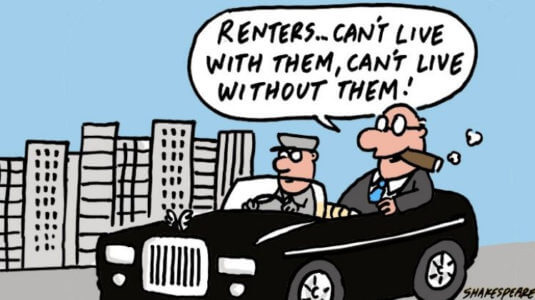 The trouble with tenants (it's us)